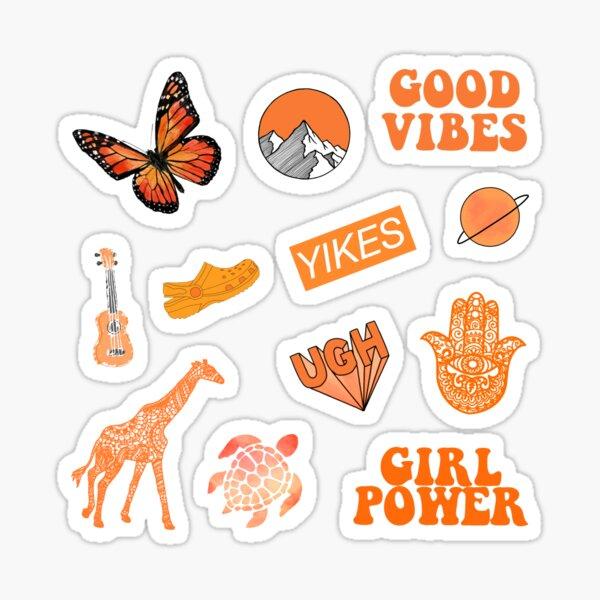 Orange Pack Sticker