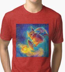 Ikou the Cute Bat Tri-blend T-Shirt