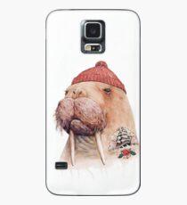 Tätowiertes Walross (rot) Hülle & Skin für Samsung Galaxy