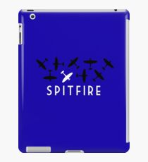 The Spitfire - RAF World War Two fighter plane iPad Case/Skin