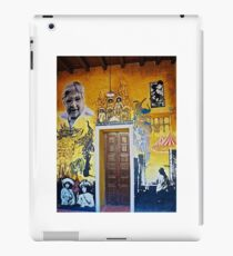 Mural from Parral, Mexico iPad Case/Skin