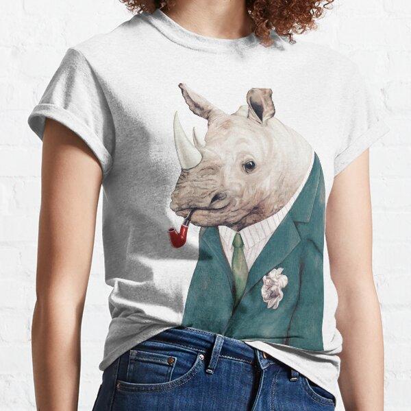 Rhinoceros Green Classic T-Shirt