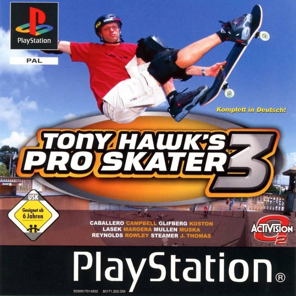 Tony Hawk Pro Skater 3 by holocaust