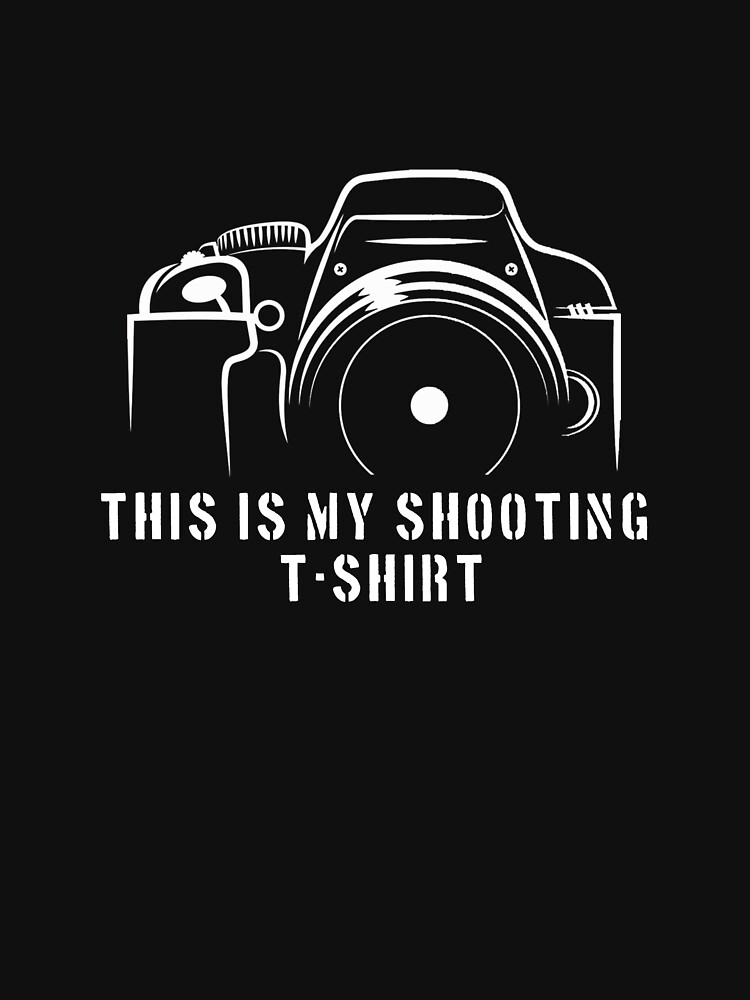 Photographer - This is my shooting T-shirt by designhp