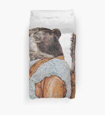 Hunter Bear Duvet Cover