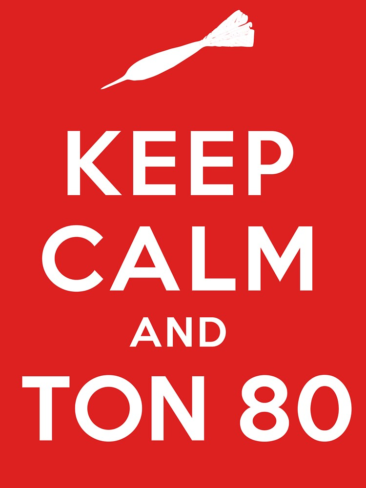 Keep Calm and Ton 80 by Amnezia