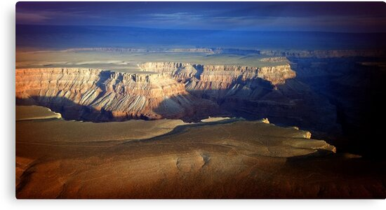 Sunset at The Grand Canyon by mAriO vAllejO