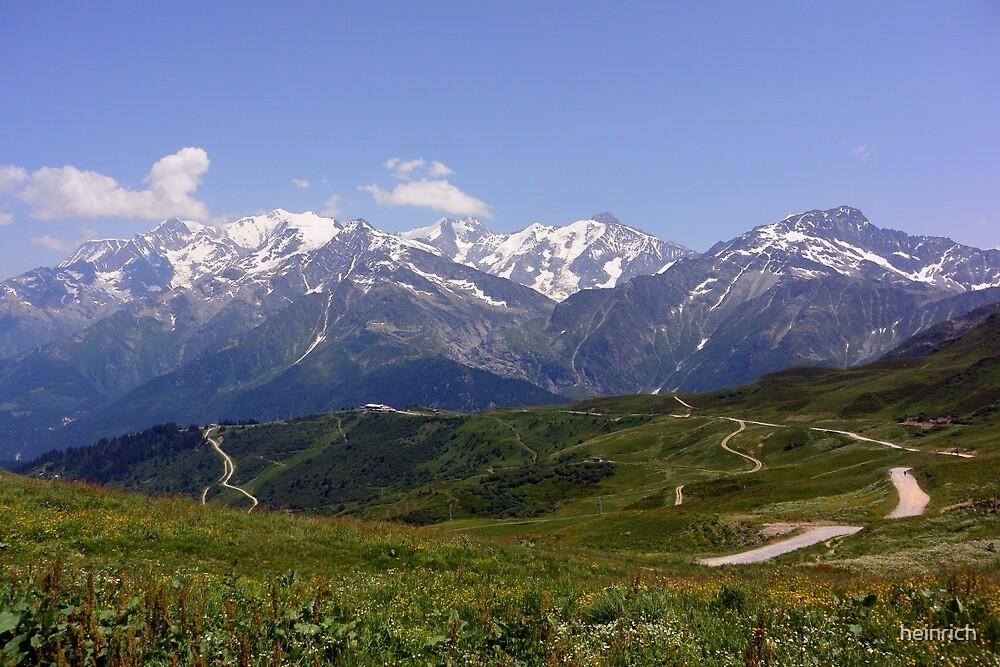 Col du Joly (Mont Blanc) by heinrich