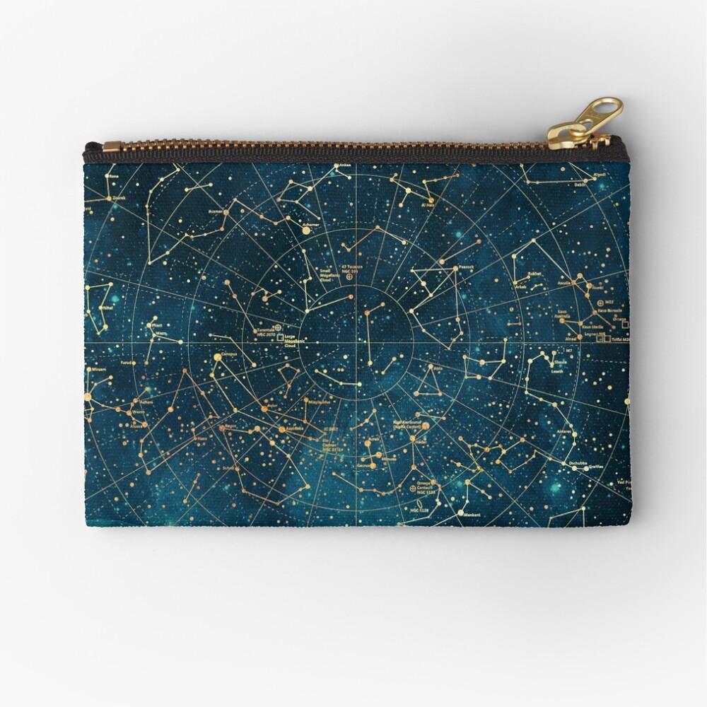 Under Constellations Zipper Pouch