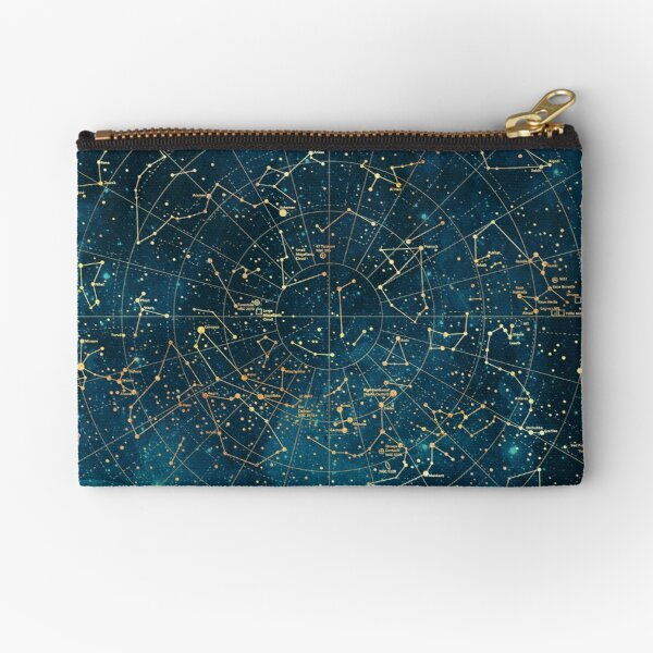 Under Constellations Zipper Pouch