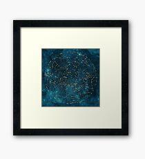 Under Constellations Framed Print