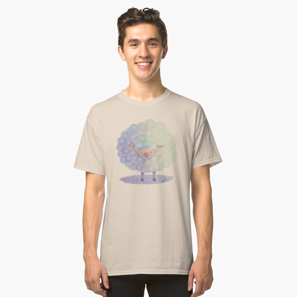 Happy Sheep Classic T-Shirt