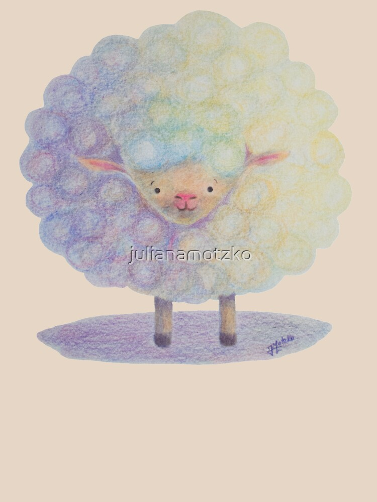 Happy Sheep by julianamotzko