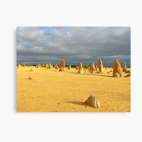 The Pinnacles  Western Australia Canvas Print