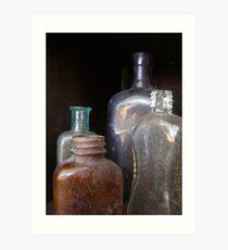 Bottled History Art Print