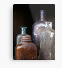 Bottled History Metal Print