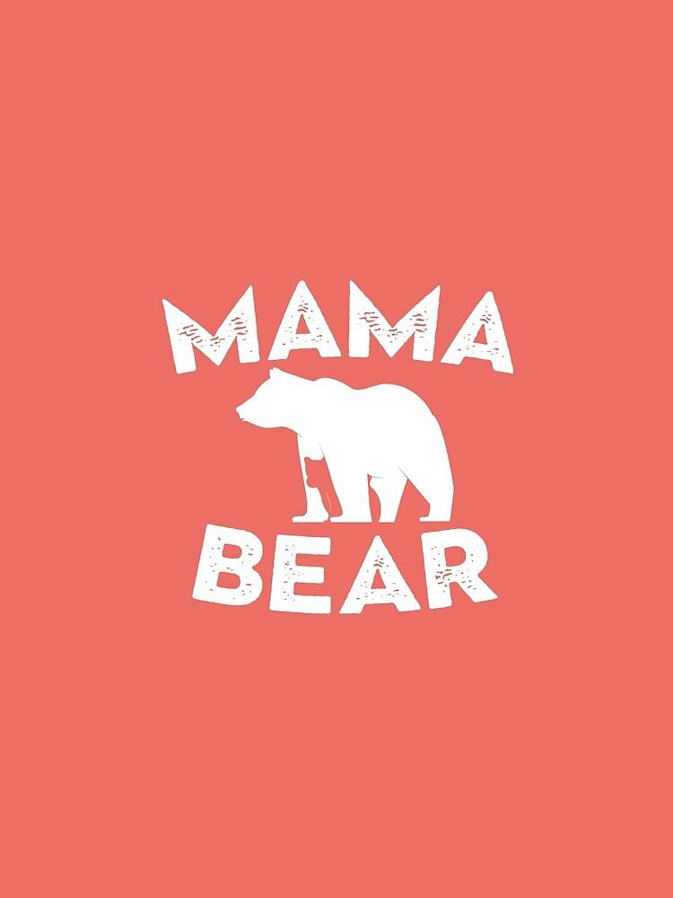 Mama Bear and Baby Bear by johnnyhh