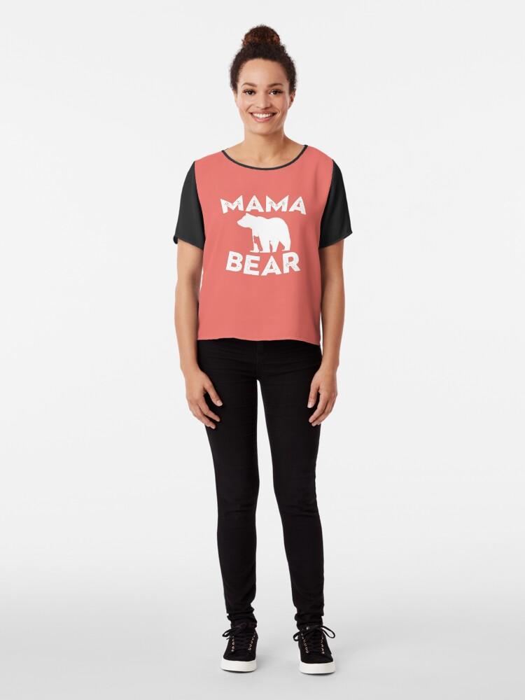 Alternate view of Mama Bear and Baby Bear Chiffon Top