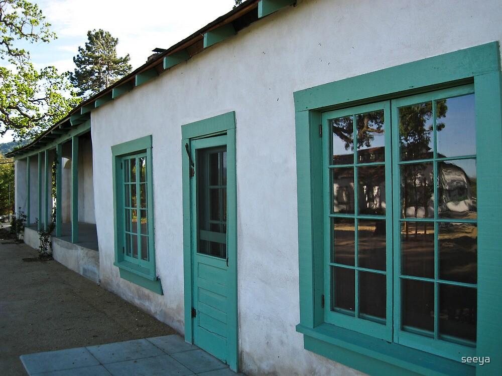 Window to the Past-Alviso Adobe Park by seeya