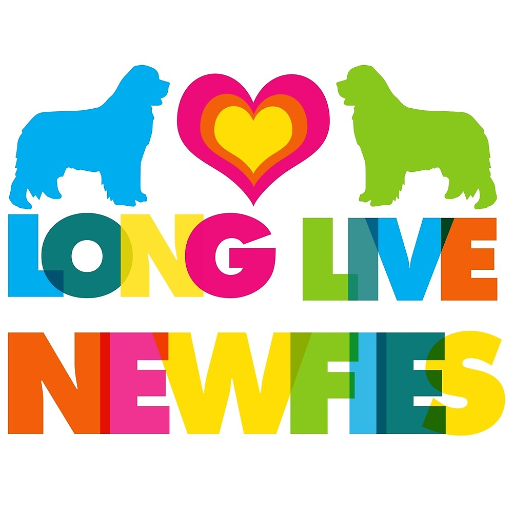 Long Live our Newfies by Christine Mullis