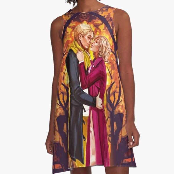 Fall A-Line Dress
