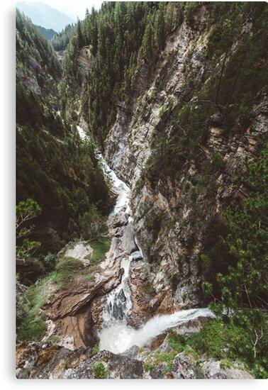 Switzerland river by Tomáš Hudolin