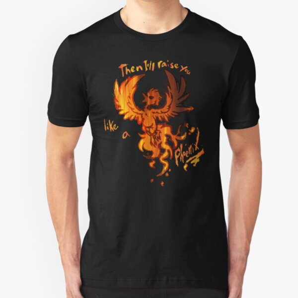 Fall Out Boy - The Phoenix - Then I'll Raise You Like A Phoenix Slim Fit T-Shirt