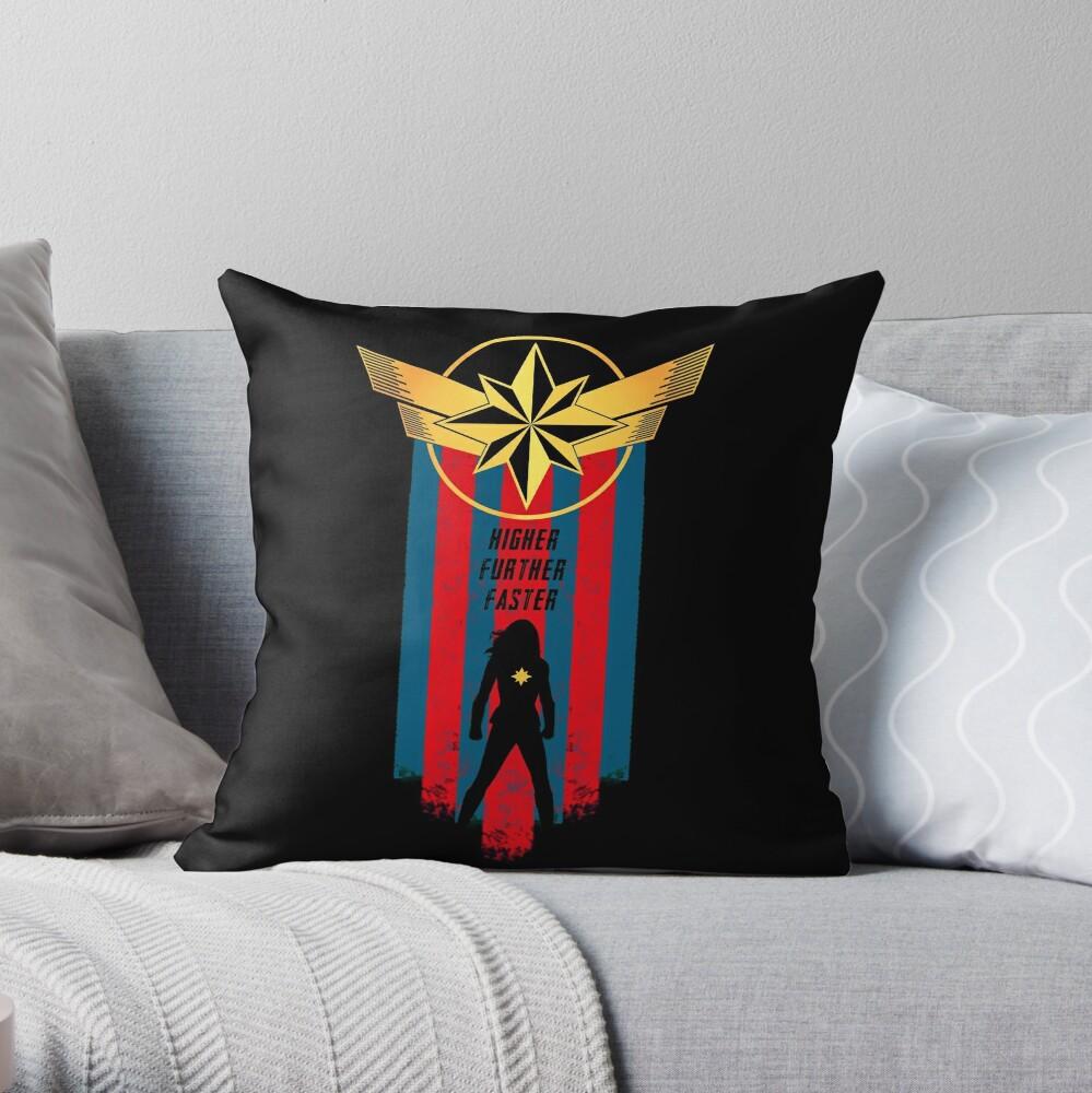 A Real Heroine v2 Throw Pillow