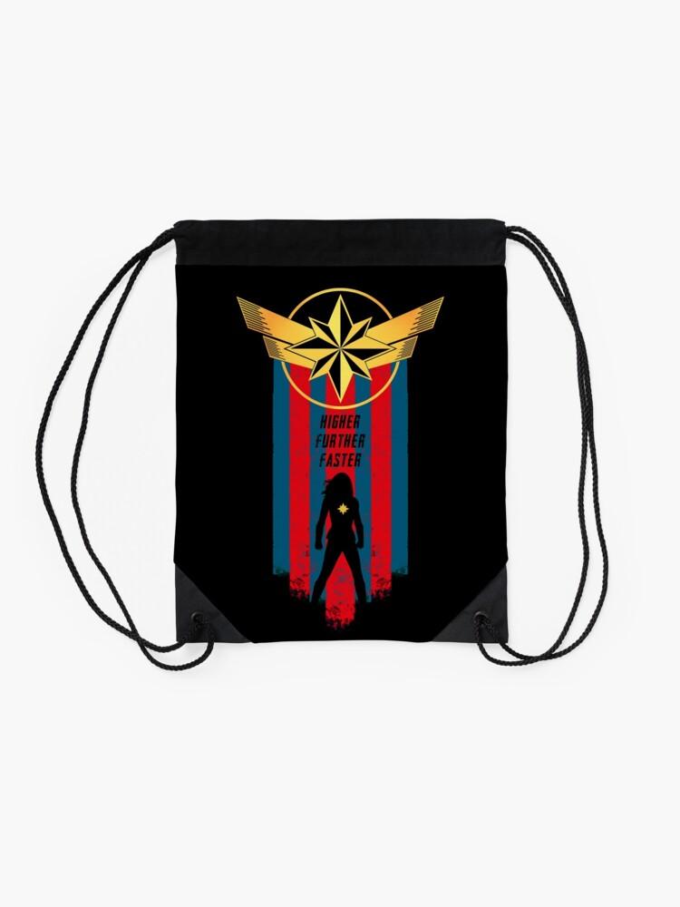 Alternate view of A Real Heroine v2 Drawstring Bag
