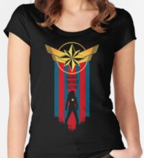 A Real Heroine v2 Fitted Scoop T-Shirt