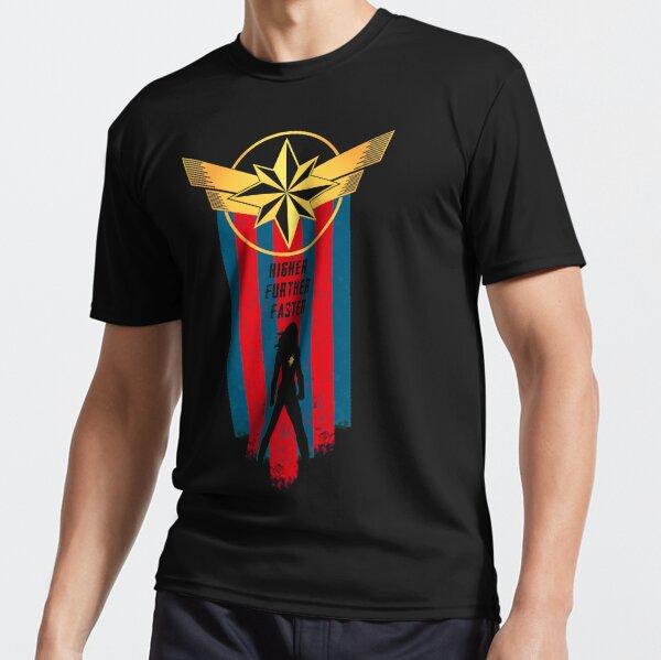A Real Heroine v2 Active T-Shirt