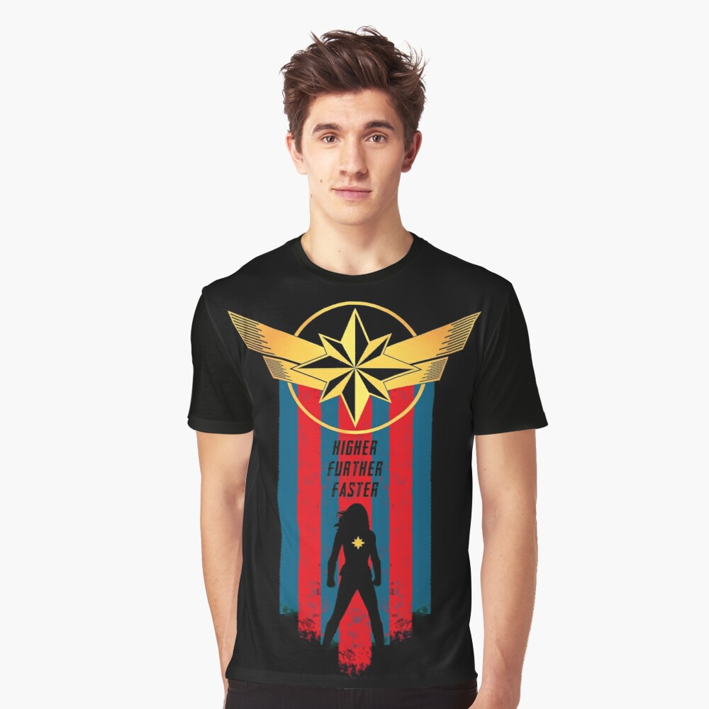 A Real Heroine v2 Graphic T-Shirt