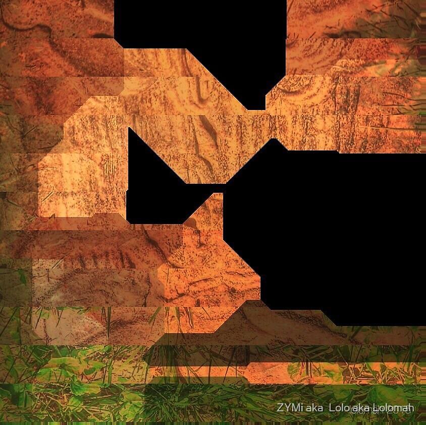 Abstract art  by ZYMi aka  Lolo aka Lolomah