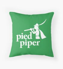 Pied Piper (Version 2) Throw Pillow