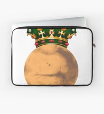 Mars with crown Laptop Sleeve