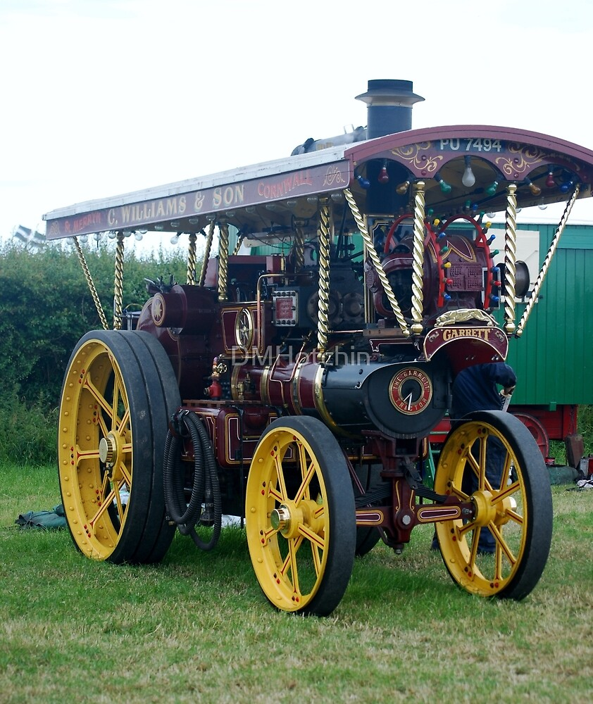 Traction Engine by DMHotchin