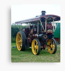 Traction Engine Canvas Print