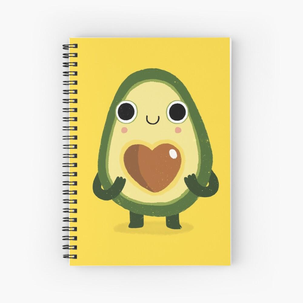 Luvocado Spiral Notebook
