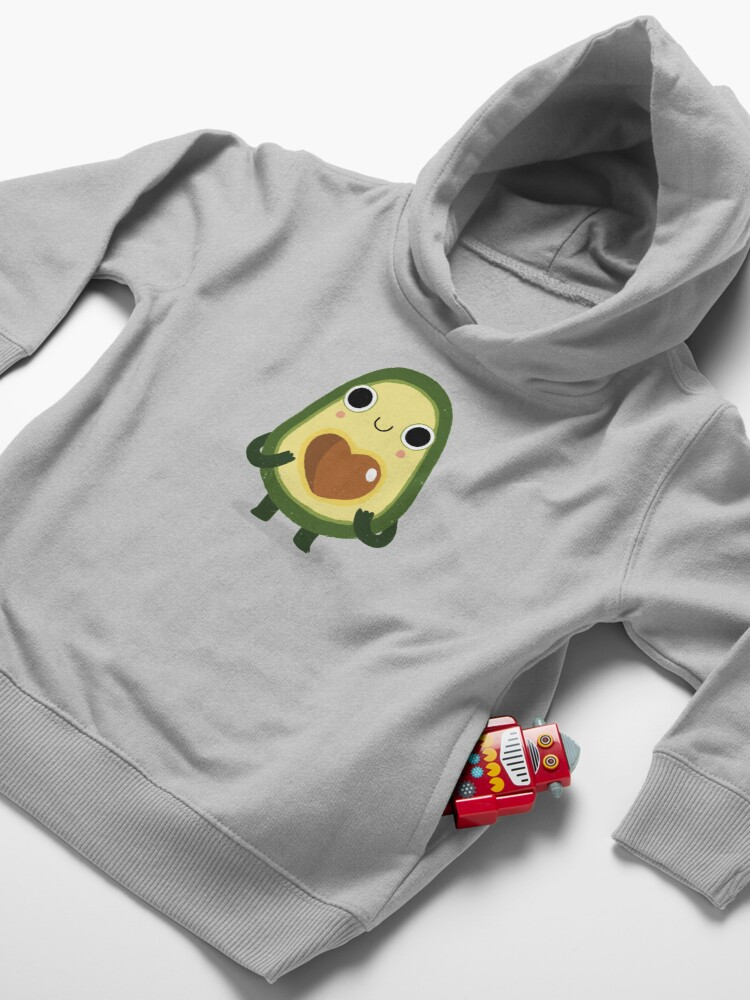 Alternate view of Luvocado Toddler Pullover Hoodie