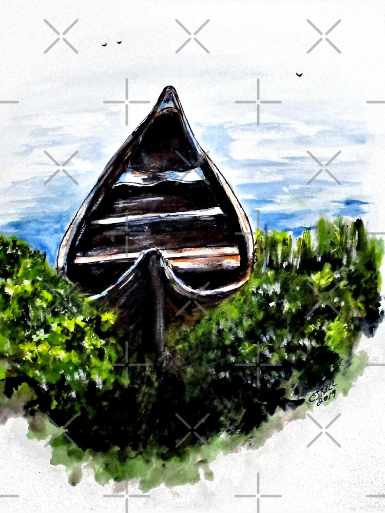 Hidden River Boat by cjkell
