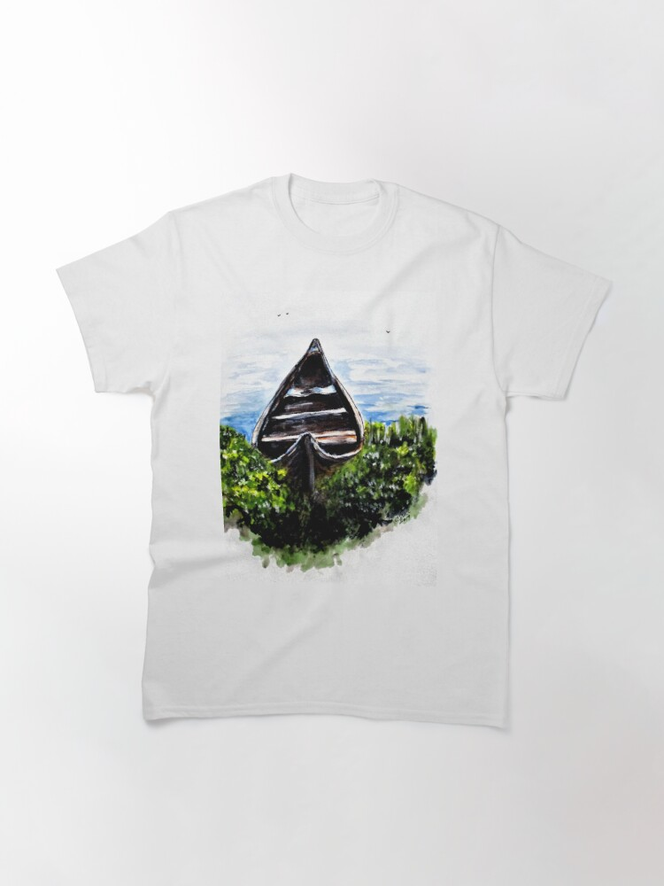 Alternate view of Hidden River Boat Classic T-Shirt
