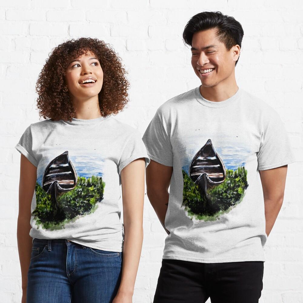Hidden River Boat Classic T-Shirt