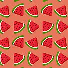 Cute Watermelon pattern | Food by koovox
