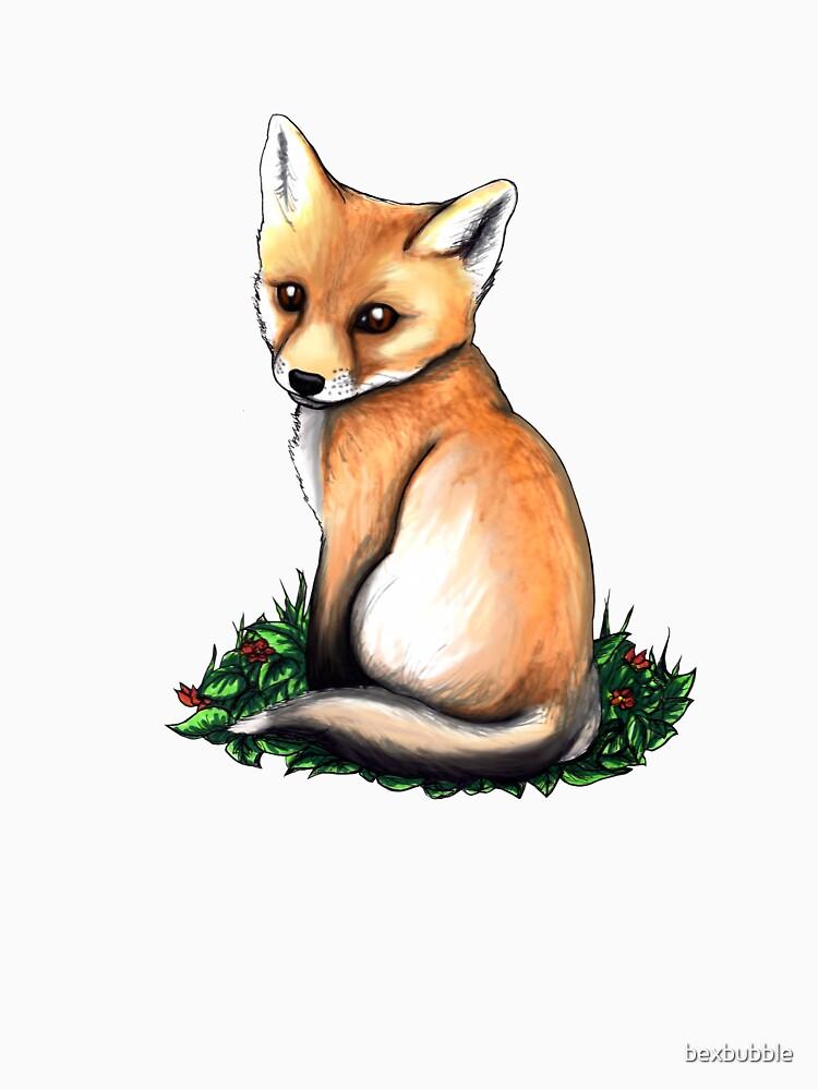 Little Fox by bexbubble