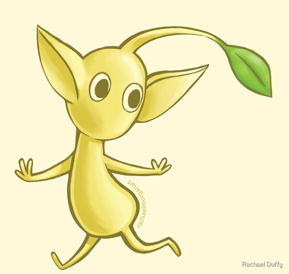Yellow Pikmin by Rachael Morgan