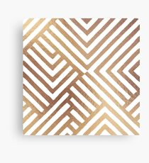 Geometric DESMOS-Goldy Metal Print