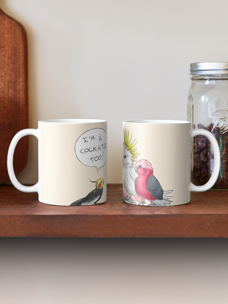 Cockatiel Cockatoo Galah Sulphur Best Gift Coffee Mugs 11 Oz