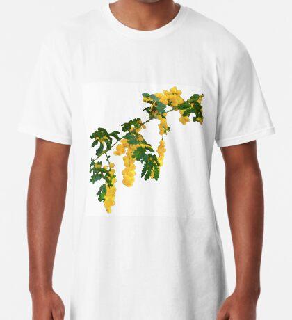 Wattle Fever - White Long T-Shirt