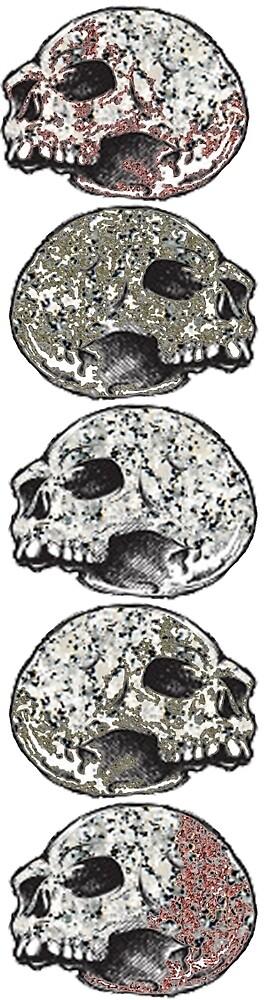 Skull Stack (Red Brown Variation) by ProjectMayhem
