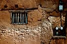 Adobe House Window - Mesilla by Larry Costales